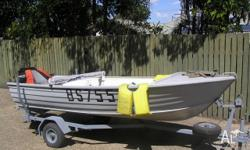 Good clean reliable family or fishing boat on
