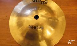 "Selling a stagg bell. Also selling a paiste 8"" splash,"