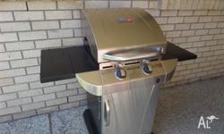 Twin burner high quality BBQ only 6 months old and used