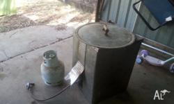cas crab cooker with hose and bottle $150..may also