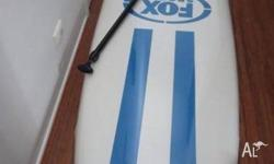 Soft Top SUP with paddle - light weight and easy to