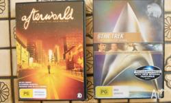 The following DVD's are for sale: Afterworld (2 DVD