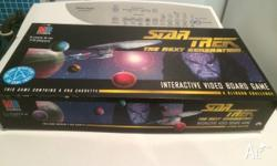 I have for sale a milton bradley star trek the next