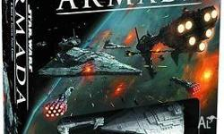 Star Wars Armada core set tabletop game. As new, played