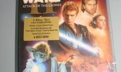 Up for grabs is the Star Wars II DVD. DVD in fantastic