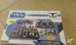 I have a Star Wars guessing game hardly used for ages 6