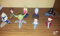 Star Wars McDonalds toys ( Set of 8 ) ( 2008 )