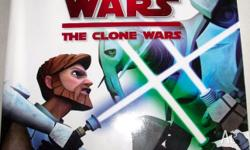 This great STAR WARS THE CLONE WARS VISUAL GUIDE