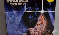 Original Star Wars trilogy on DVD which includes Return