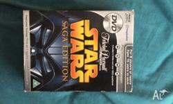Star Wars trivial pursuit limited edition dvd game ior