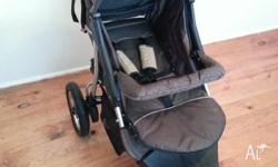 excellent condition 3wheeler jogger