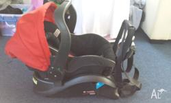 For sale is my Steelcraft baby capsule barely used