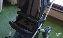 Steelcraft Cruiser Stroller - Cinder Grey Used but in