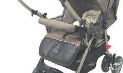 Steelcraft Enigma pram /stroller in two tone