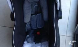 The Steelcraft Infant Carrier is extremely convenient.