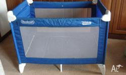 Steelcraft Portable Cot - Good Condition - easy set up