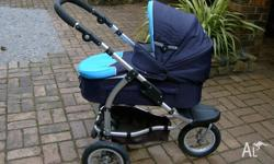 SteelCraft Pusher/Pram. Barely used. Very clean.