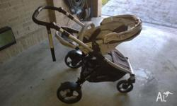 Steelcraft strider plus pram comes with the bassinet 3