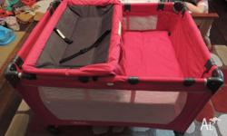 Steelcraft Travel Cot in excellent condition. This