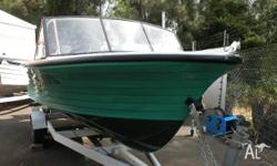 STEJCRAFT RUNABOUT LEISURE 4.6M, GREEN, Other, Call our
