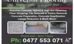 - STENCIL/SPRAY CRETE REMOVAL - DIAMOND GRINDING -