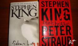 Stephen King - 2 books for $5 *Salem's lot ---- ok