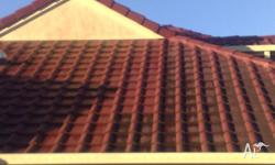 - Roof cleaning - Driveways, concrete, etc - Fully