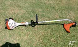 Hi I am selling my Stihl bent shaft whipper snipper