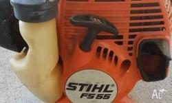 Stihl FS55 Whipper Snipper - Straight Shaft, require