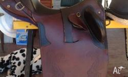 Stock saddle, comes mounted (not on photo when pic