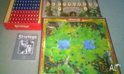 Vintage Stratego Board Game �40 Years� - All Of The