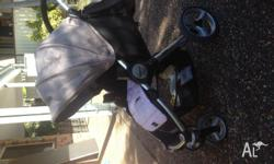 Strider Agile pram & capsule great condition, I want to
