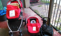Great condition Strider compact, pram and capsule