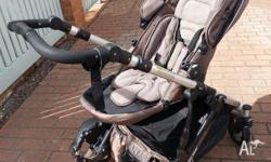 This pram has only been used for the last five months
