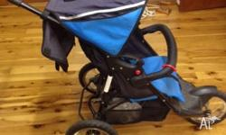 Hi folks, selling this stroller on behalf of my mother.