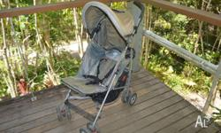 Valco Metro Stroller Fully reclinable 5 point safety