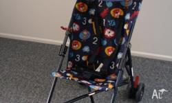 Stroller in perfect condition. Used only a couple of