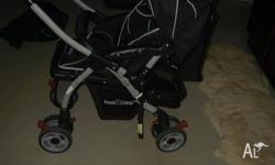 LOVE N CARE ALUMINIUM MIRAGE STROLLER AS NEW SPECIAL