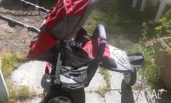 Single pushchair, needs tyres pumped up been sitting in