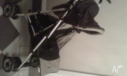 Used, in good condition, Steelcraft stroller with