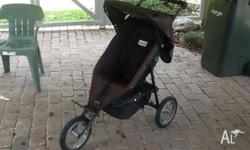 Stroller is in very good condition. Everything works
