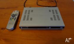Fully functional set top box in as-new condition.