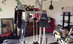 York Exergear complete home gym, excellent condition,
