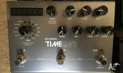 Strymon Timeline in Mint condition Includes orignal box