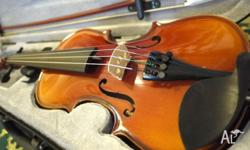 Student Violin Size 1/8 Comes with Violin Case with