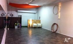 Creative studio available for rent on Hillcrest Parade,