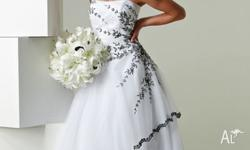 Exquisite Henry Roth designer wedding gowns are priced