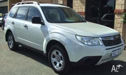 SUBARU, FORESTER, 2008, 4D WAGON, 2.5, 4cyl, 4 SP AUTO