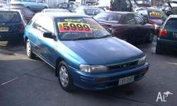 SUBARU, IMPREZA, 1996, AWD, Blue, grey trim, 5D