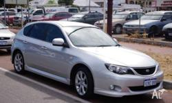 As new Impreza RS (wrx sports interior,alloy wheels and